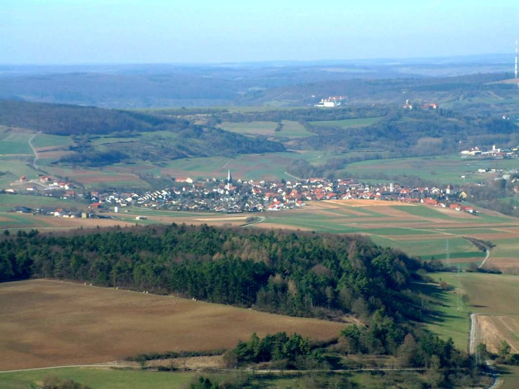 Anflug Markelsheim