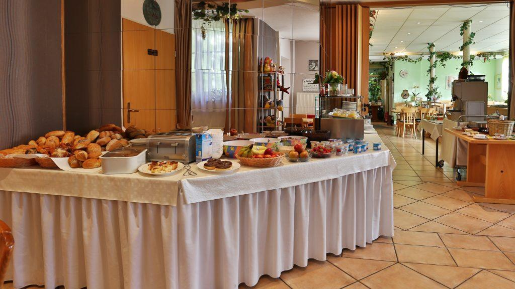 Landgasthaus Taubertal Frühstücksbüffet