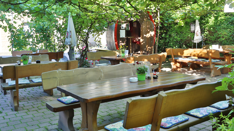 Landgasthof Taubertal Biergarten