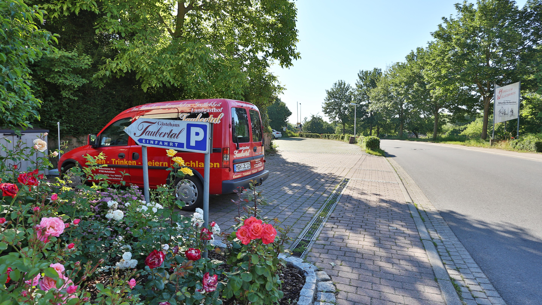 Landgasthof Taubertal Parkplatz