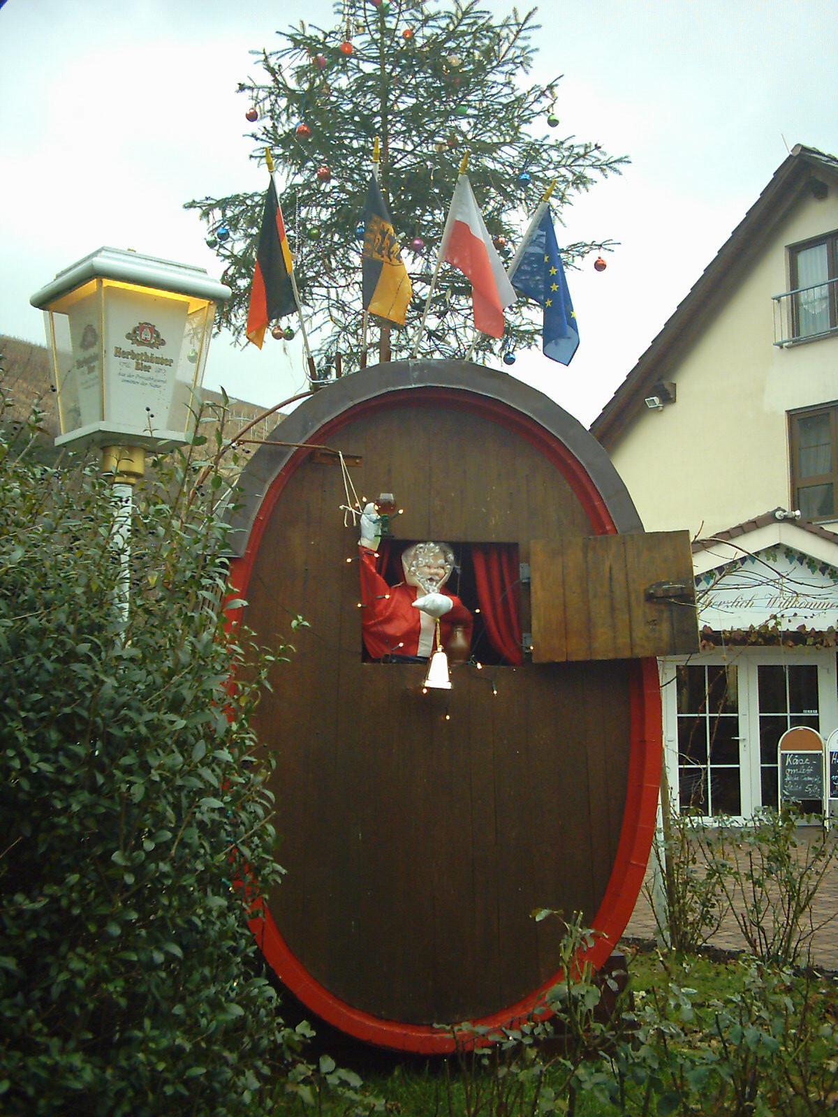 Landgasthof Taubertal Weinfass